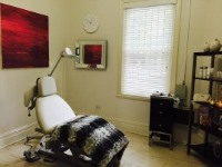 Caroline newman interior cosmetic treatment room